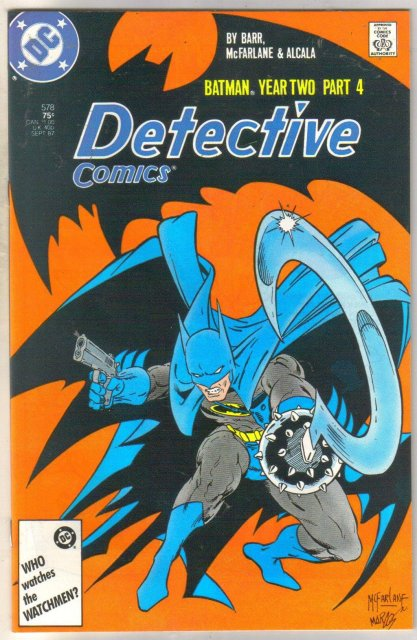 Detective Comics #578 comic book near mint 9.4