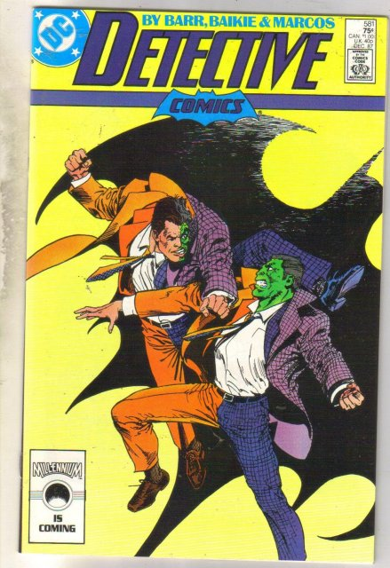 Detective Comics #581 comic book mint 9.8