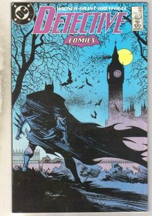 Detective Comics #590 comic book near mint 9.4