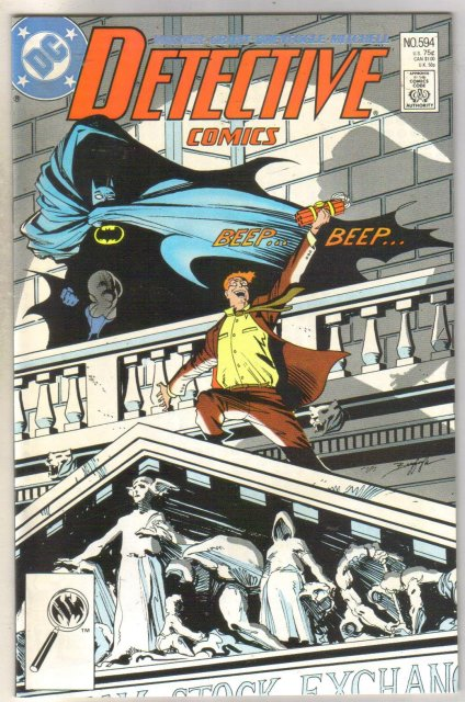 Detective Comics #594 comic book mint 9.8