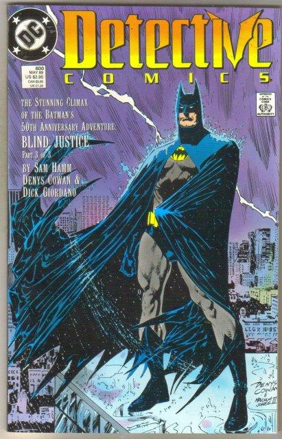 Detective Comics #600 comic book mint 9.8