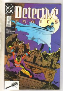 Detective Comics #603 comic book near mint 9.4