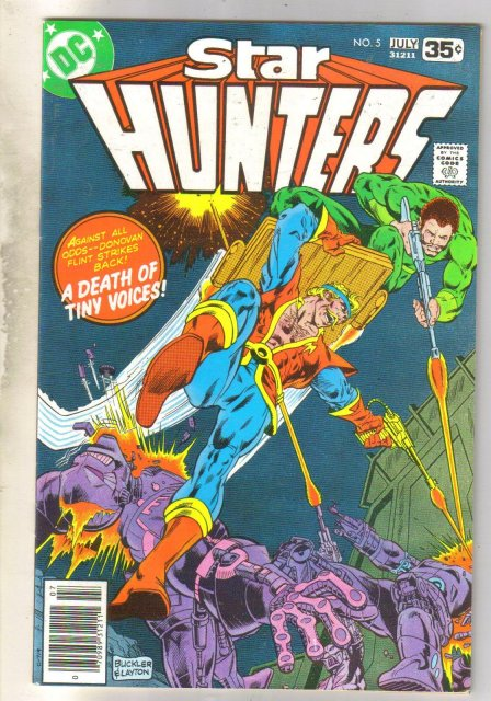 Star Hunters #5 comic book very fine 8.0