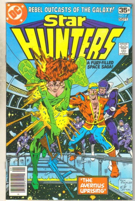 Star Hunters #6 comic book fine 6.0