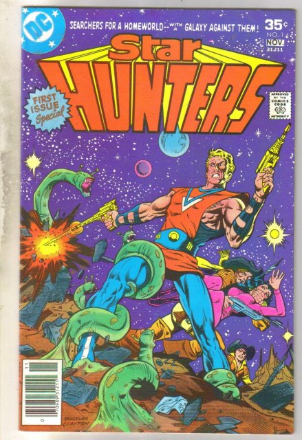 Star Hunters #1 comic book near mint 9.4