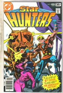 Star Hunters #2 comic book near mint 9.4