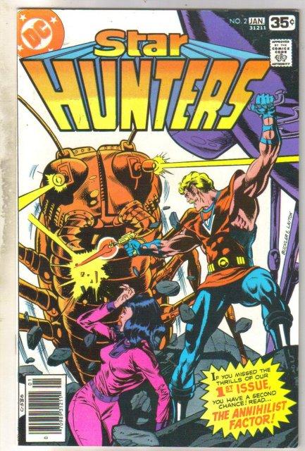 Star Hunters #2 comic book near mint 9.4