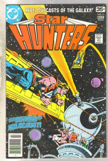 Star Hunters #3 comic book near mint 9.4