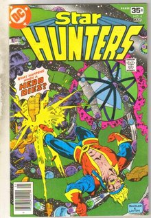 Star Hunters #4 comic book near mint 9.4
