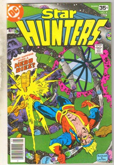 Star Hunters #4 comic book near mint 9.4