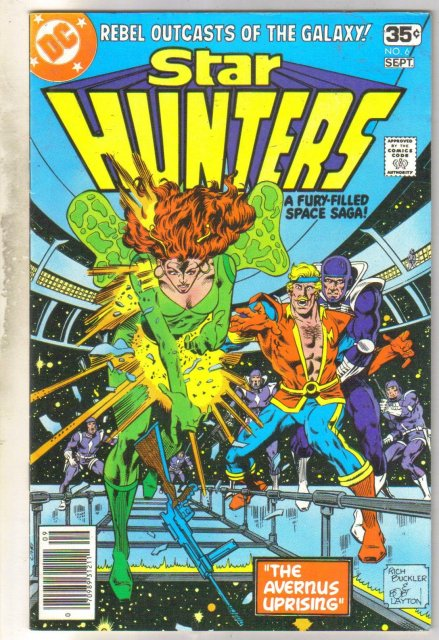 Star Hunters #6 comic book near mint 9.4