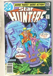 Star Hunters #7 comic book near mint 9.4