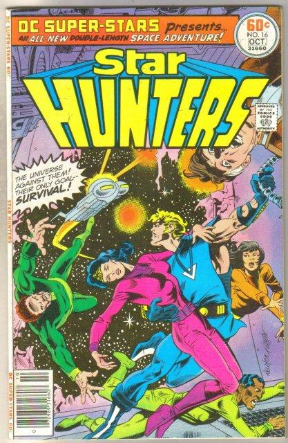 DC Super Stars Star Hunters #16 comic book very fine 8.0