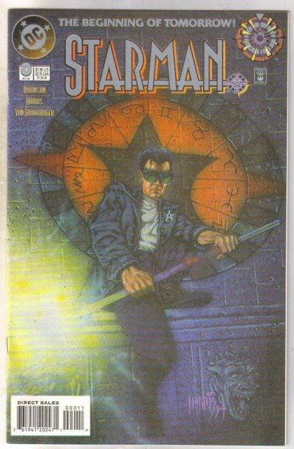 Starman #0 comic book mint 9.8
