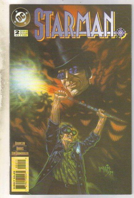Starman #2 comic book near mint 9.4