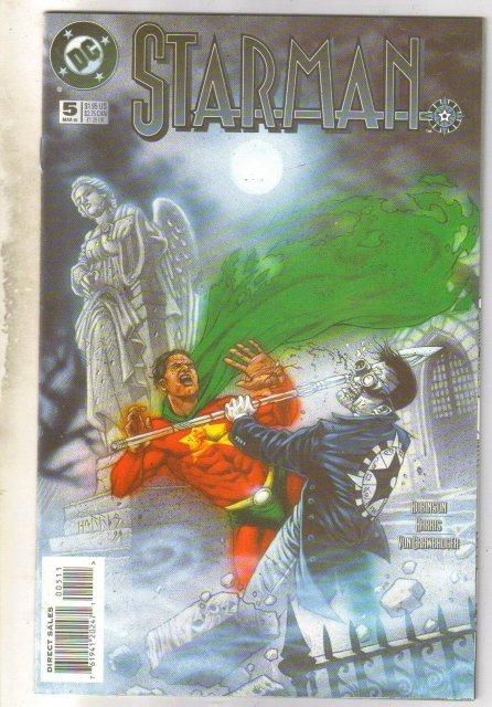 Starman #5 comic book near mint 9.4