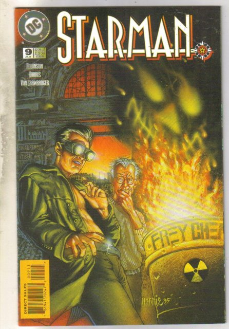 Starman #9 comic book near mint 9.4