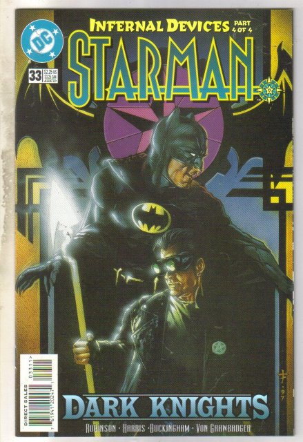 Starman #33 comic book near mint 9.4