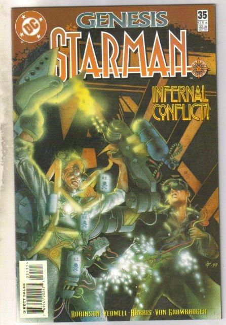Starman #35 comic book near mint 9.4