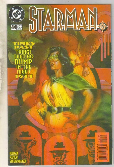 Starman #44 comic book near mint 9.4