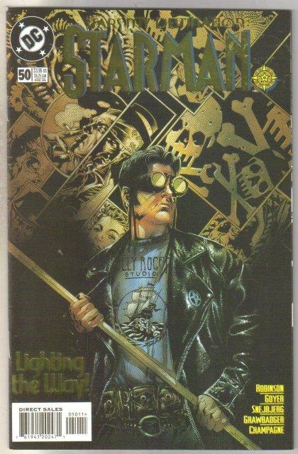Starman #50 comic book near mint 9.4