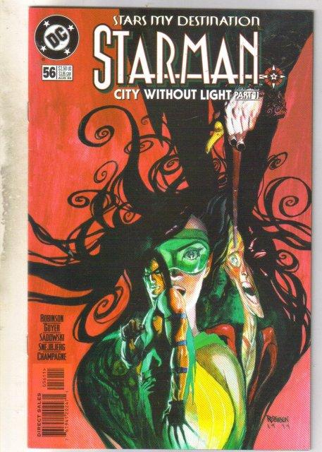 Starman #56 comic book near mint 9.4