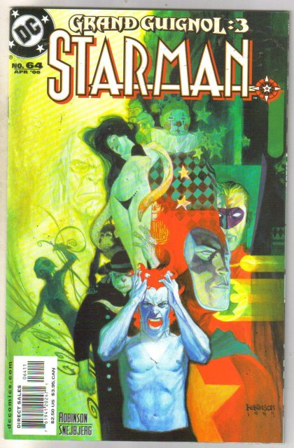 Starman #64 comic book near mint 9.4