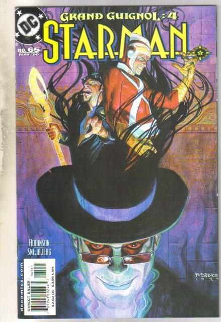 Starman #65 comic book near mint 9.4