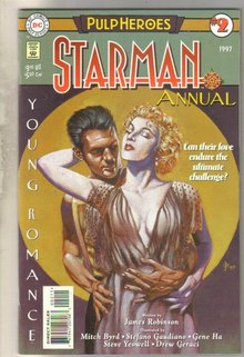 Starman Annual #2 comic book near mint 9.4