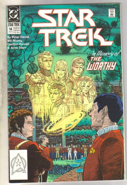 Star Trek #14 comic book near mint 9.4