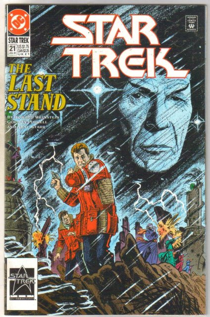 Star Trek #21 comic book near mint 9.4