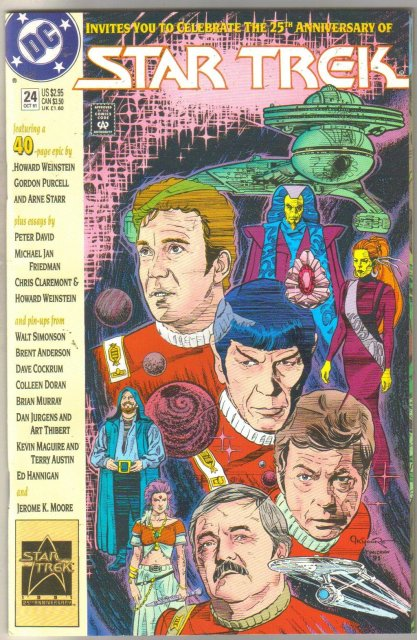 Star Trek #24 comic book near mint 9.4