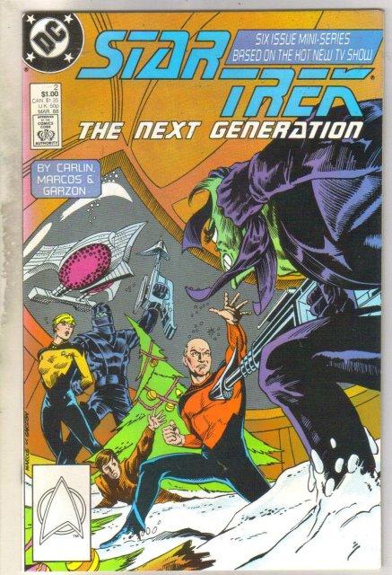 Star Trek The Next Generation #2 comic book near mint 9.4