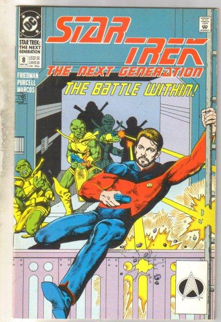 Star Trek The Next Generation #8 comic book near mint 9.4