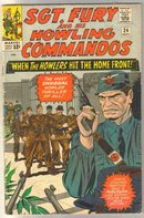 Sgt. Fury and his Howling Commandos #24 comic book very good 4.0
