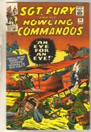 Sgt. Fury and his Howling Commandos #19 comic book fine 6.0