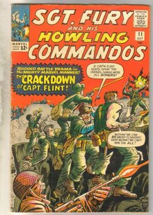 Sgt. Fury and his Howling Commandos #11 comic book fine 6.0