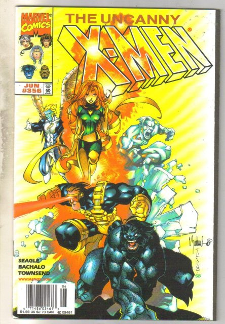 Uncanny X-men #356 comic book near mint 9.4