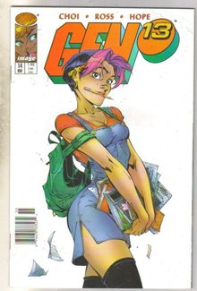 Gen13 #14 comic book mint 9.8