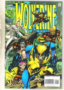 Wolverine #94 comic book mint 9.8