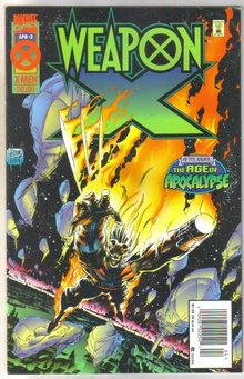 Weaponx #2 comic book mint 9.8