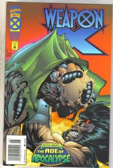 Weaponx #4 comic book mint 9.8