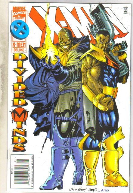X-men #48 comic book mint 9.8