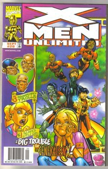 X-men Unlimited #20 comic book mint 9.8