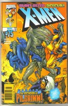 X-men #75 comic book near mint 9.4