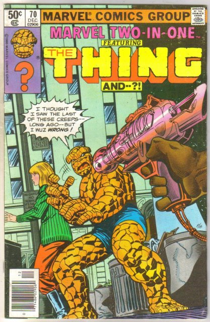 Marvel Two-In-One #70 comic book near mint 9.4