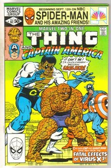 Marvel Two-In-One #82 comic book mint 9.8
