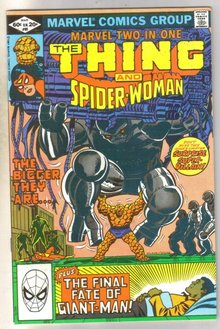 Marvel Two-In-One #85 comic book near mint 9.4