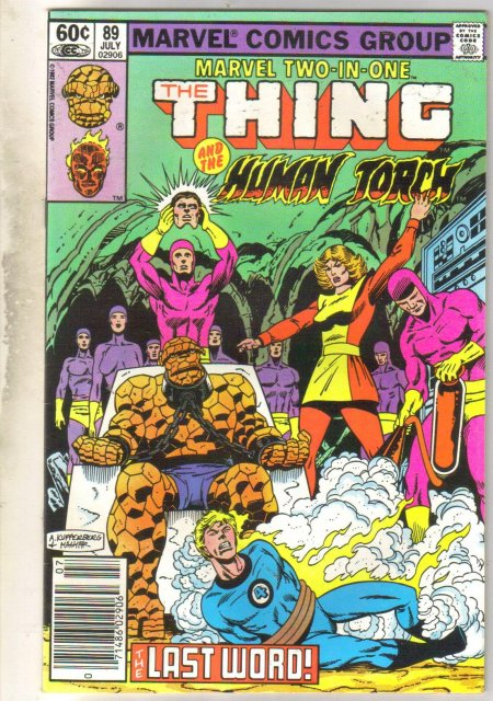 Marvel Two-In-One #89 comic book near mint 9.4