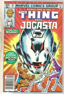 Marvel Two-In-One #92 Jocasta comic book mint 9.8